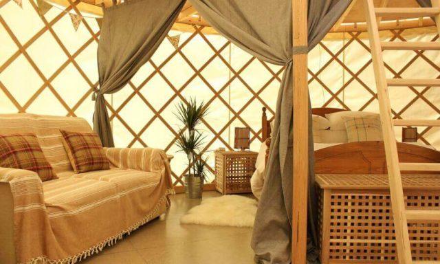 Garlic Farm Luxury Yurts, Isle of Wight
