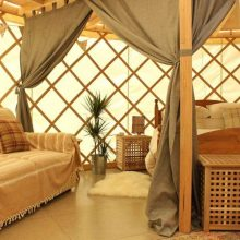 Garlic Farm Luxury Yurts, Isle of Wight
