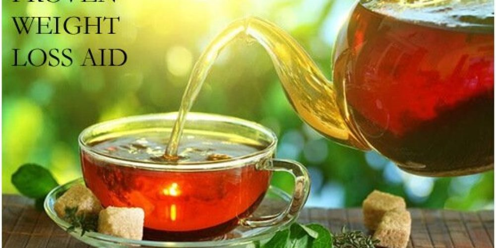 PROVEN WEIGHT-LOSS AID in the form of a cuppa tea!
