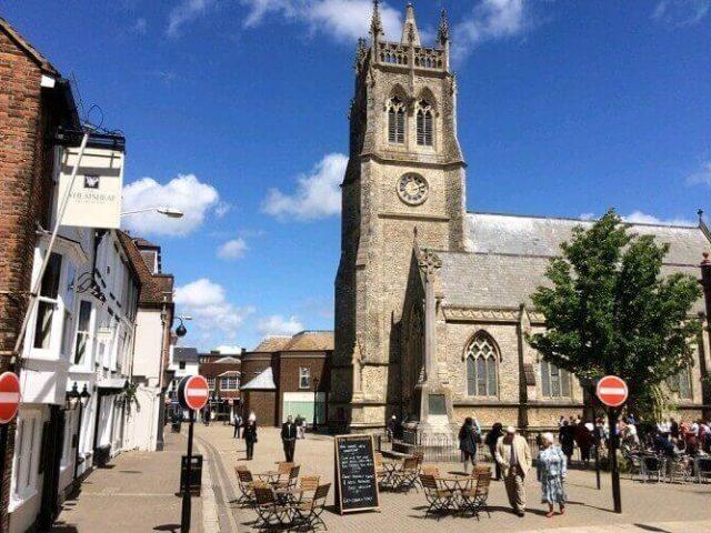 St Thomas' Church, Newport, Isle of Wight
