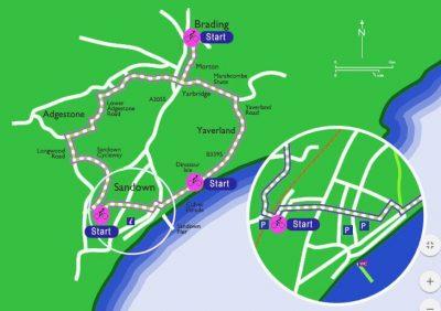 sandown-circle-cycle-route