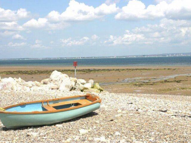 Springvale Beach, Seaview, Isle of Wight