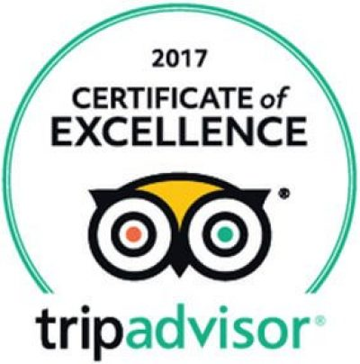 The Swiss Cottage Certificate of Excellence 2017