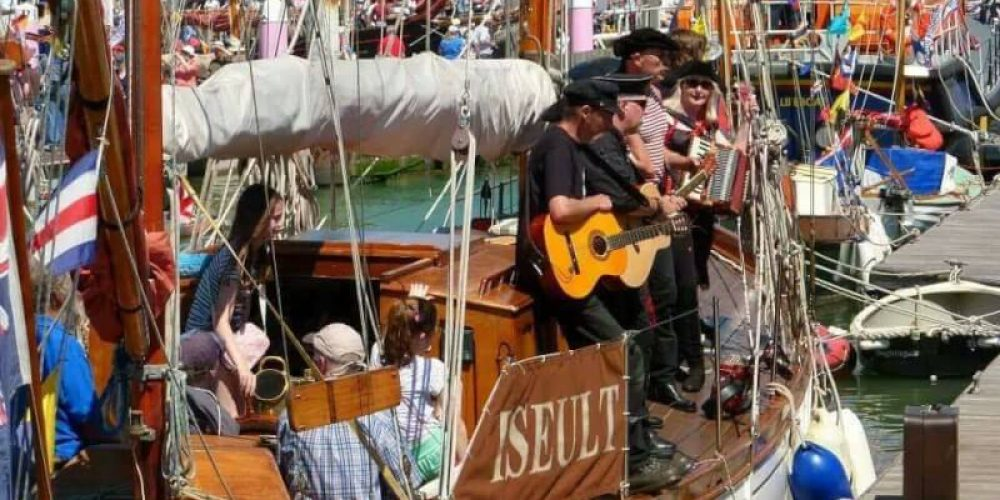Isle of Wight Yarmouth Old Gaffers Festival 2017