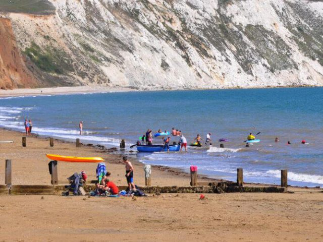 Yaverland Beach, Sandown, Isle of Wight