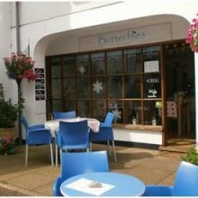 Butterflies of Yarmouth Cafe, Isle of Wight