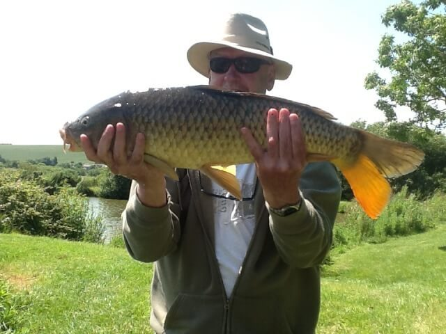 Fishing at Nettlecombe Farm