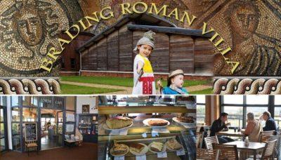 Forum Cafe Brading Roman Villa Isle of Wight