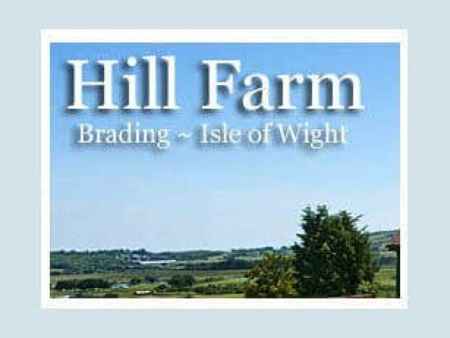 Hill Farm Brading Self Catering Cottages