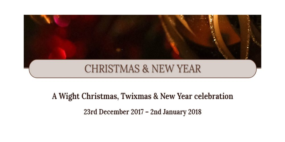 WIGHT CHRISTMAS – WE HAVE A FANTASTIC FESTIVE SEASON at THE WIGHT, SANDOWN.