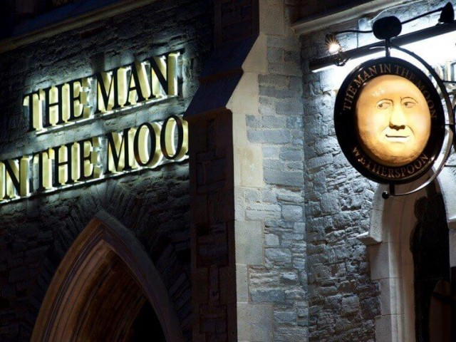 Man in the Moon in Newport