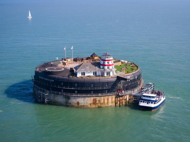 No Man's Fort, The Solent, Isle of Wight