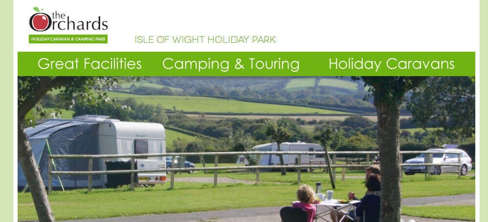Great Offer for Camping and Touring Offer from the Orchards – Isle of Wight