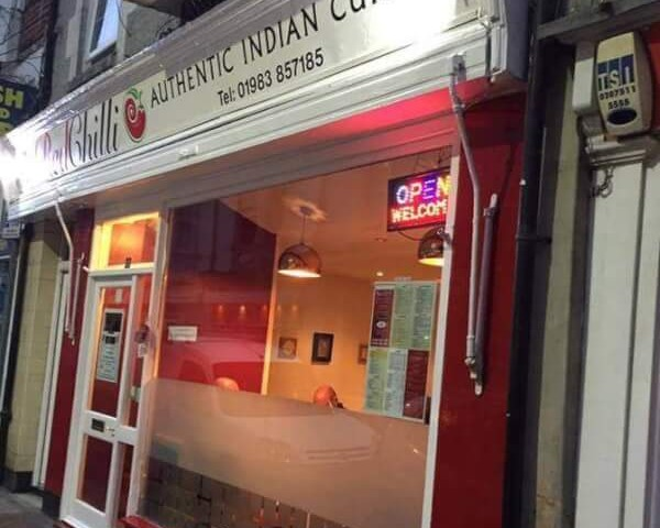 Red Chilli Indian Restaurant, Ventnor, Isle of Wight