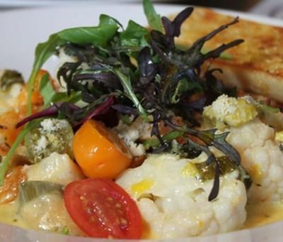 garlic farm restaurant isle of wight