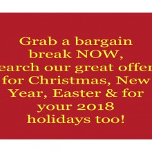SEARCH OUR SPECIALS AND GRAB A BARGAIN BREAK NOW!
