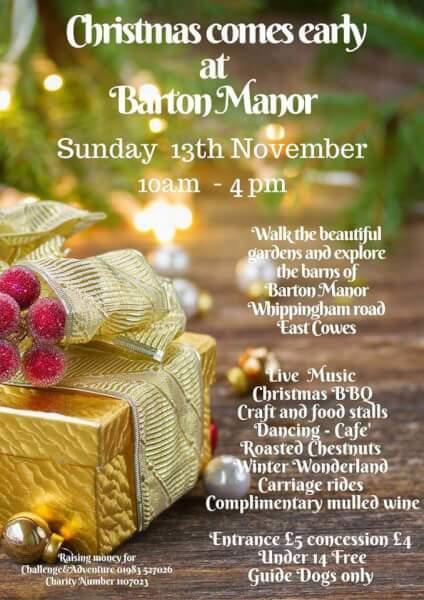 christmas-at-barton-manor Isle of Wight