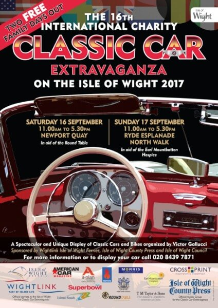 classic car show Isle of Wight 2017