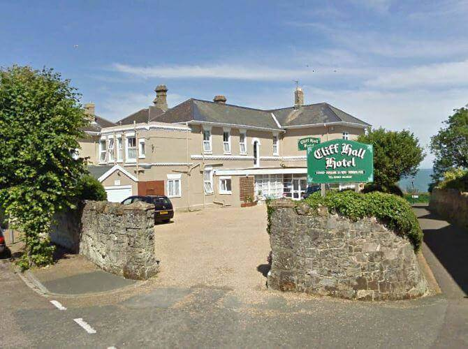 cliff hall shanklin isle of wight