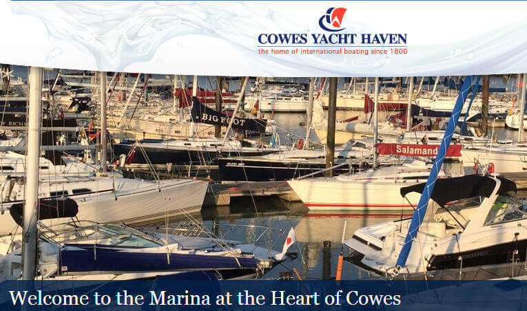 Cowes Yacht Haven Isle of Wight Sailing