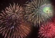 Yarmouth Fireworks display IOW