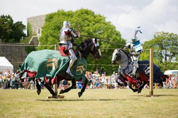isle of wight jousting