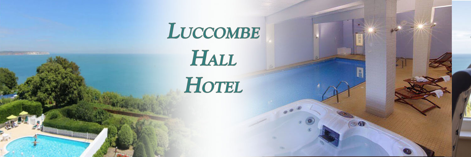 luccombe hall isle of wight hotel banner