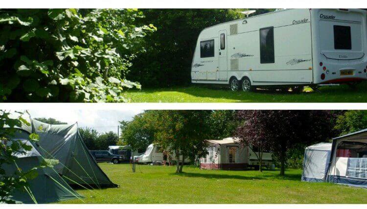 Old Barn camping touring sandown isle of wight