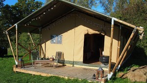 Thorness Bay parkresorts safari tent