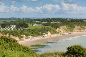 Whitecliff Bay Isle of Wight