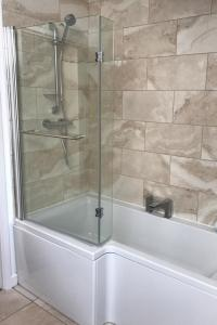 Typical bath with shower