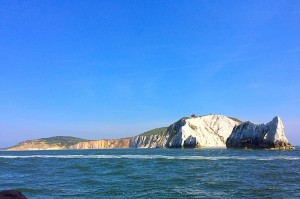 The Needles Isle of Wight from a different perspective.