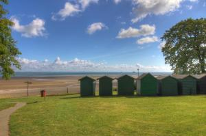 Beach huts at Appley, Isle of Wight