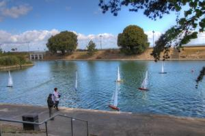 Ryde boating Lake