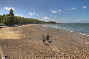 The golden sands at Appley
