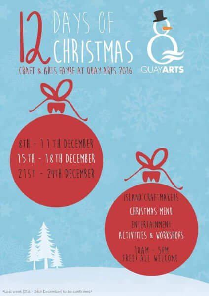 quay-art-events-xmas isle of wight newport