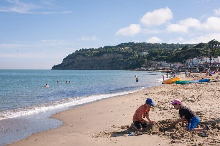 shanklin beach isle of wight portfolio