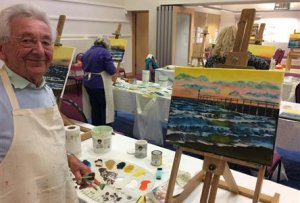 Painting with Sophia Isle of Wight